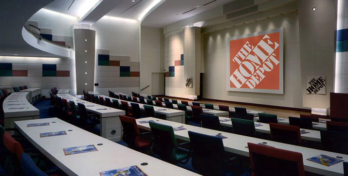home depot corporate number