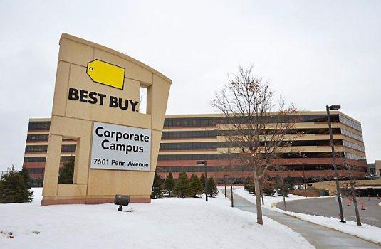 best buy corporate office address